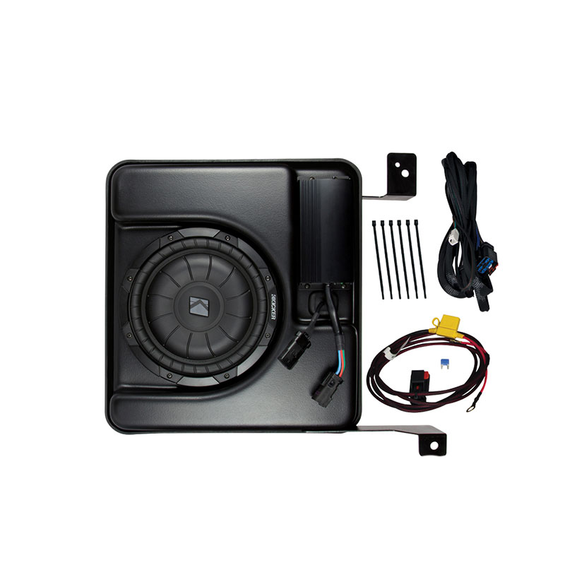 Kicker PSICRE14 4-Channel Amplified Powered Subwoofer