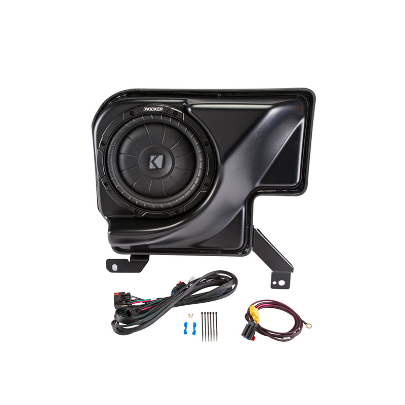 Kicker SSIEXT14 Amplified Subwoofer Upgrade System For