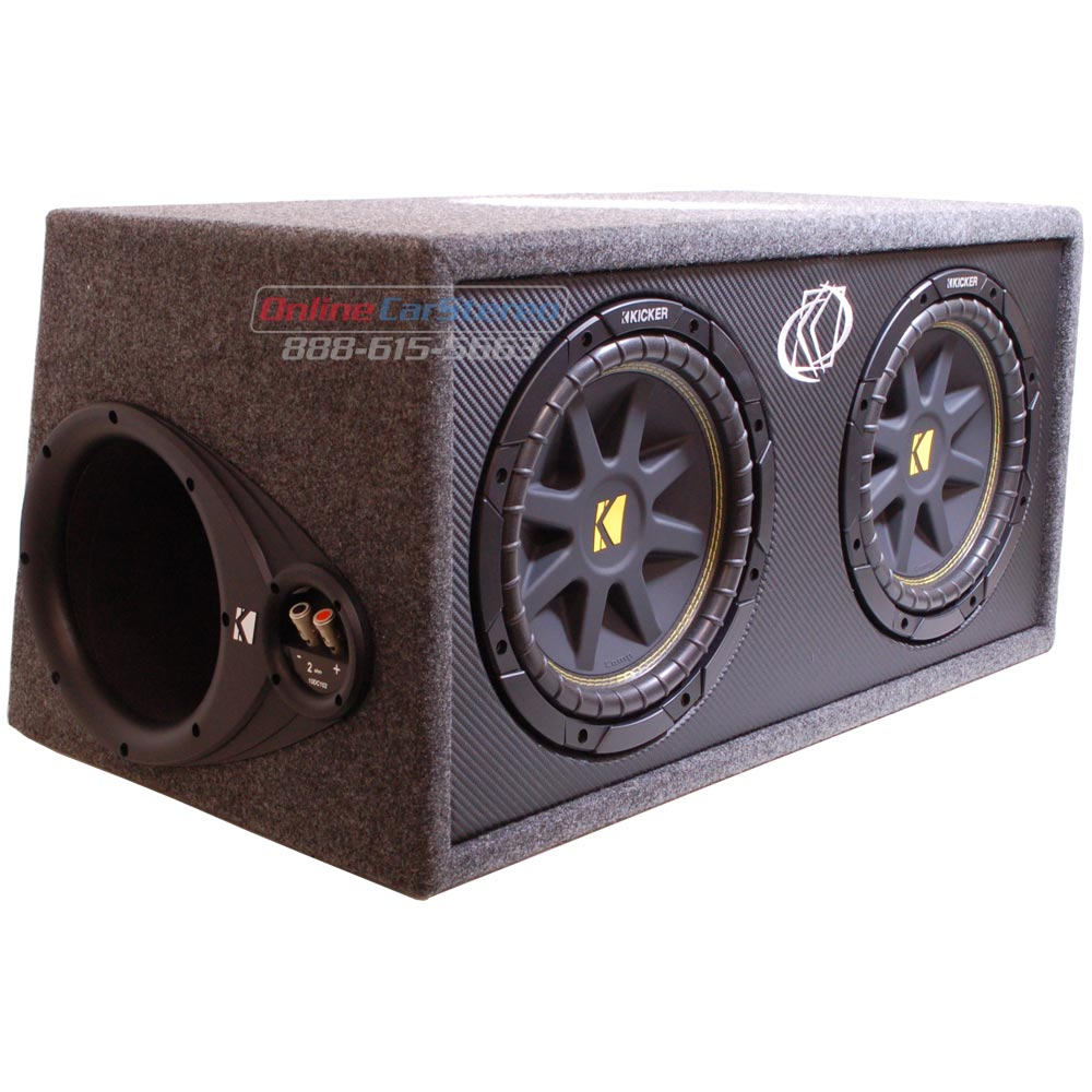 rockford fosgate enclosure with P 29596 Kicker Dc124 on Auction Image Gallery further Item sku likewise Wiring Subwoofers Ohms besides Fostex Speaker Box as well Celestion Speaker Box Enclosure.