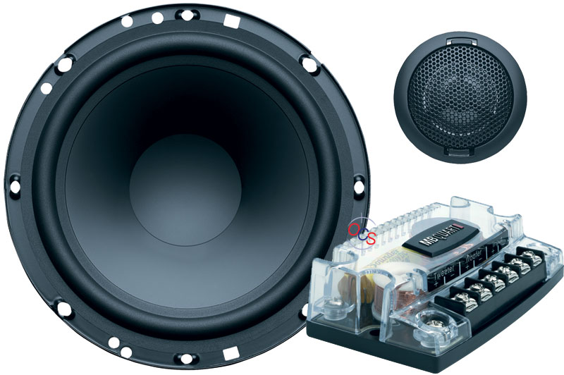 mb quart esa 216 6 1 2 100w 2 way component speaker. Black Bedroom Furniture Sets. Home Design Ideas