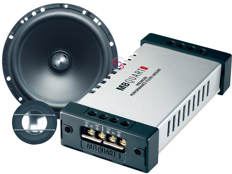mb quart pvf 216 6 1 2 140w 2 way component speaker. Black Bedroom Furniture Sets. Home Design Ideas