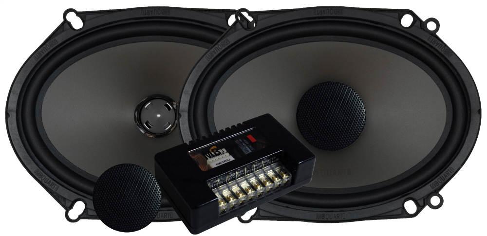 mb quart pvl268 6 quot  x 8 quot  2 way 80w convertable comp  axial mb quart crossover wiring MB Quart Home Speakers