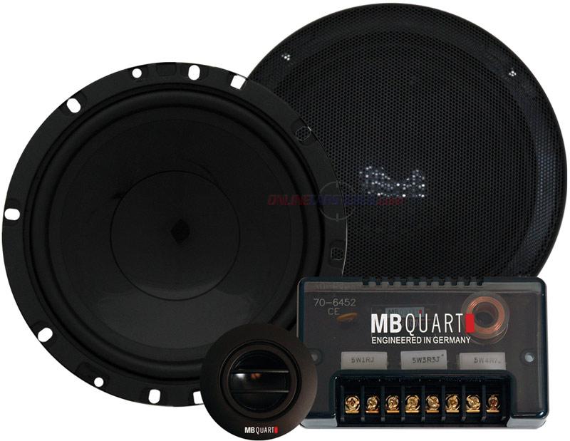 mb quart onx216 6 1 2 120w 2 way onyx series component. Black Bedroom Furniture Sets. Home Design Ideas