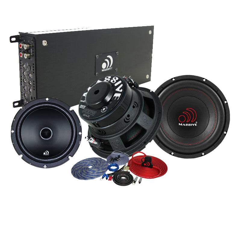 massive audio pkg ma1 massive audio 1 nx3 amplifier 2. Black Bedroom Furniture Sets. Home Design Ideas