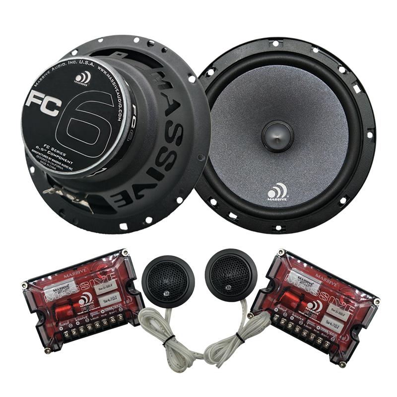 massive audio fc6 rc series 6 5 600 watts max component. Black Bedroom Furniture Sets. Home Design Ideas