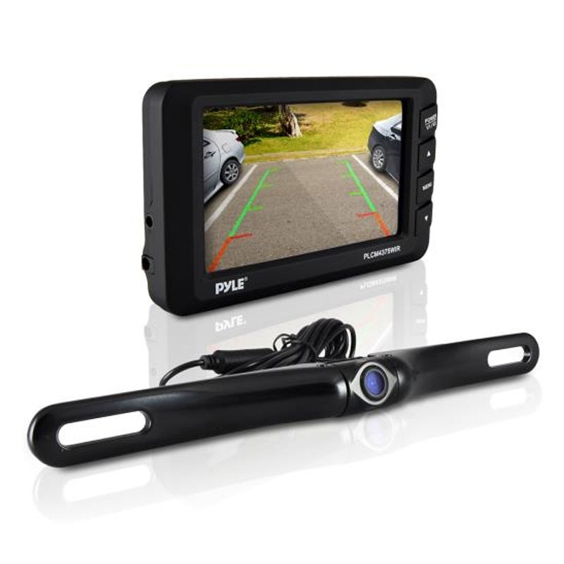Pyle PLCM4375WIR Wireless Rear View Back-up Camera