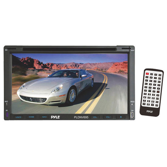 XO Vision XOD18In-Dash Double DIN INCH