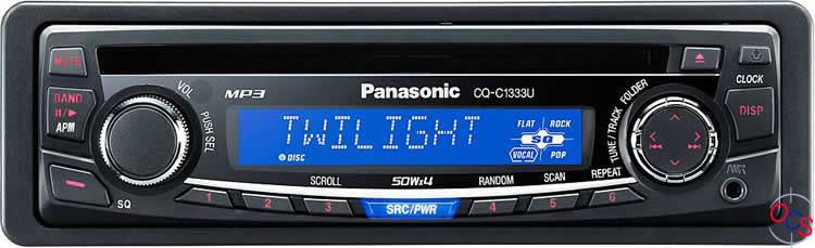 Panasonic CQ-RDP101N Car Stereo: Amazon.co.uk: Electronics  |Panasonic Truck Radio A5198