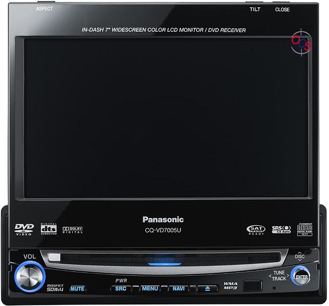 Panasonic cq vd7005u price