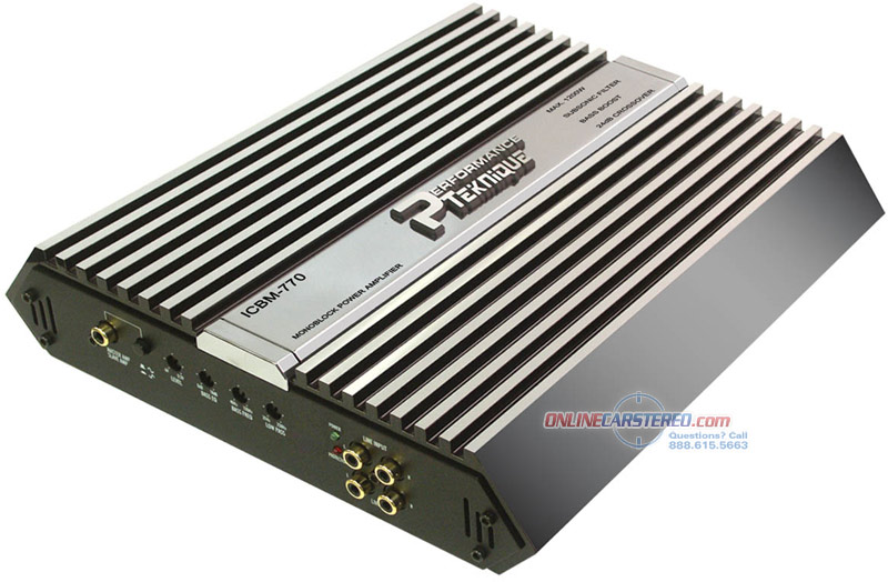 performance teknique icbm 770 product ratings and reviews at onlinecarstereo