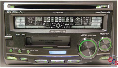 Pioneer Fhp Mp on Pioneer Double Din Stereo