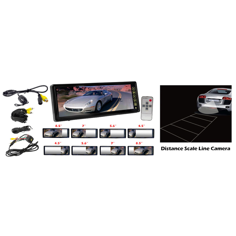 Pyle Plcm105 10 2 Tft Lcd Rear View Mirror Monitor With