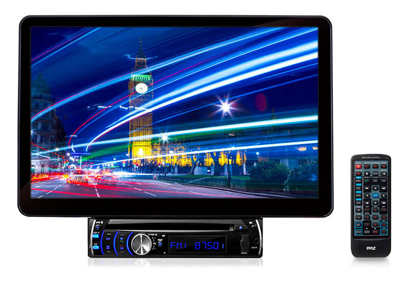 Pyle PLSD131BT 13.1'' Motorized TFT/LCD Touch Screen