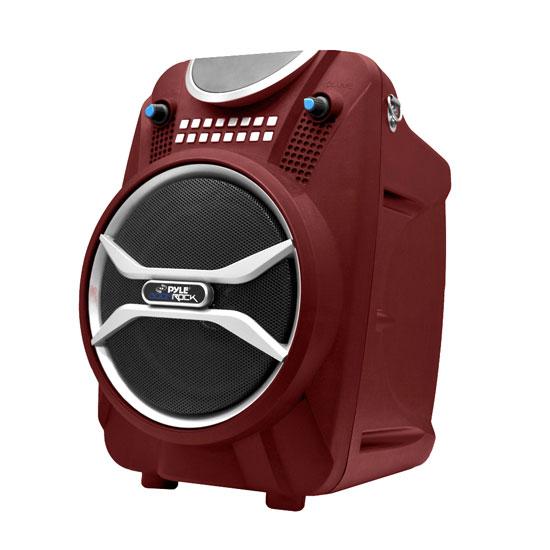 Bluetooth Speaker System Nz Reloj Casio G Shock Bluetooth Precio Bluetooth Earphones Very 1more Ibfree Bluetooth In Ear Headphones: Pyle PWMAB210RD Boom Rock Bluetooth Karaoke Speaker And