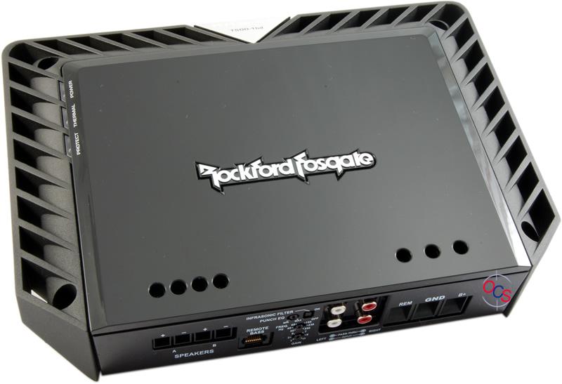 T500-1bd - 5Watt Class-bd Mono Amplifier Rockford Fosgate
