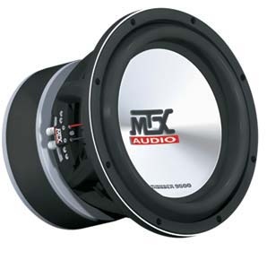 R 13321 MTX T9512 22 on autotek 12 subwoofer