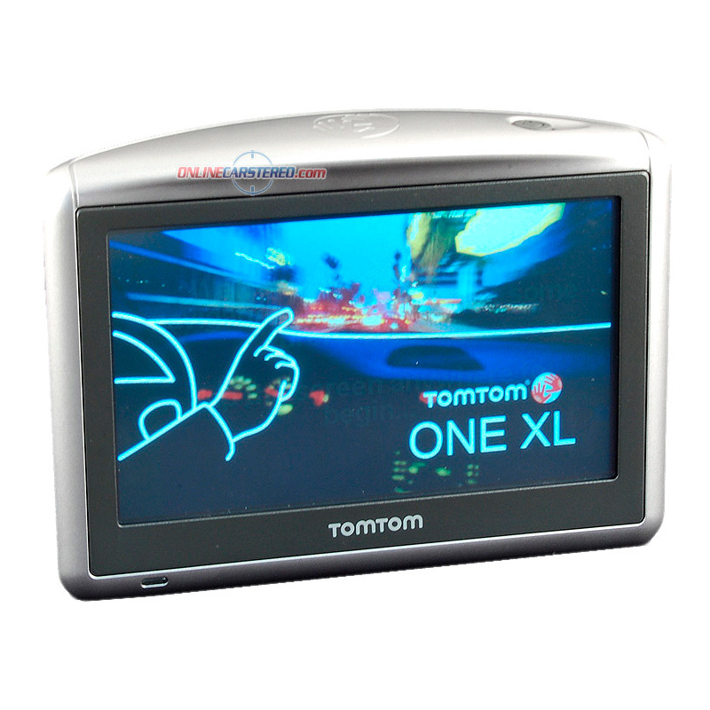 tomtom one xl s portable gps system with 4 3 touchscreen. Black Bedroom Furniture Sets. Home Design Ideas