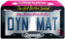 Dynamat LICENSE PLATE KIT-19100