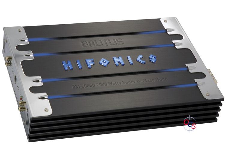 Hifonics 2000 watt amp