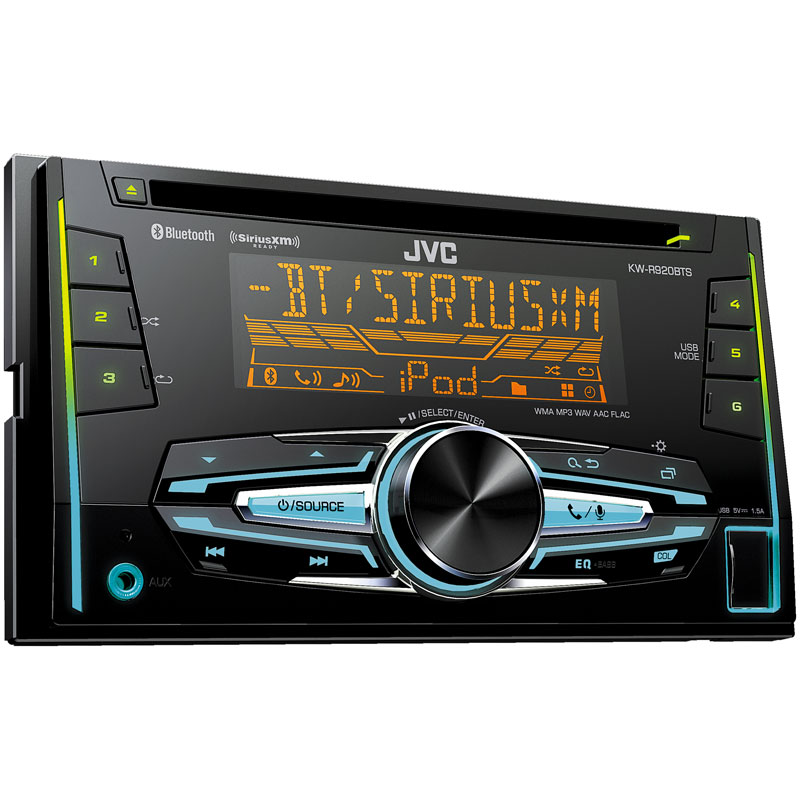 Double-DIN CD Receiver W/ Bluetooth And