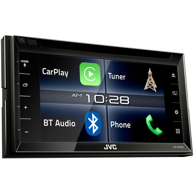 jvc kw v820bt 6 8 double din bluetooth in dash receiver. Black Bedroom Furniture Sets. Home Design Ideas