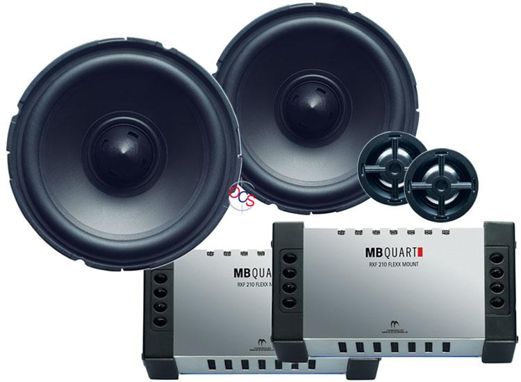 mb quart rvf 210 4 2 way component speakers system at. Black Bedroom Furniture Sets. Home Design Ideas