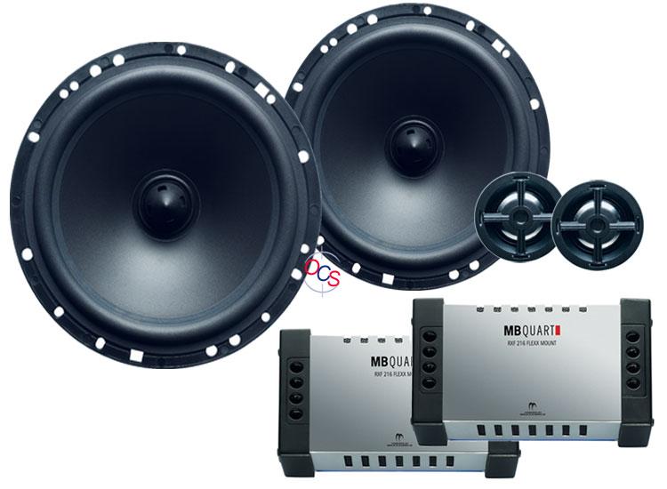 mb quart rvf 216 6 1 2 2 way component speakers system. Black Bedroom Furniture Sets. Home Design Ideas