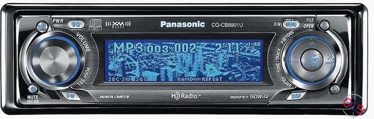 1972 Panasonic FM 8 Car Stereo Radio - Classic Vintage Car ...  |Panasonic Truck Radio A5198