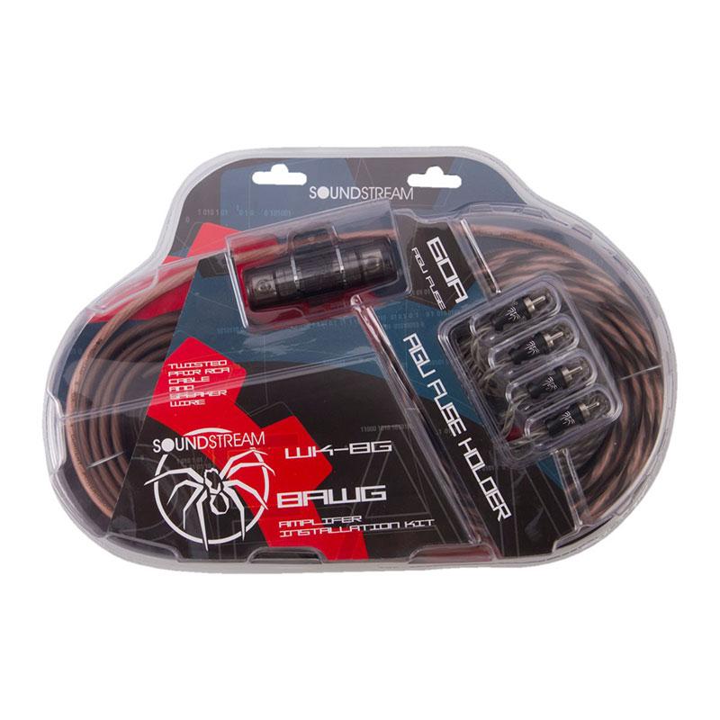 8 Gauge Amp Kit Amplifier Install Wiring Complete 8 Ga Manual Guide