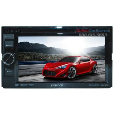 Swell Kenwood Ddx370 Double Din In Dash Dvd Cd Receiver With 6 1 Wvga Wiring Cloud Hisonuggs Outletorg