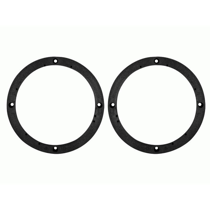 "6.5/"" Inch Car Black Plastic Speaker Spacers Round 2 Pcs for Volkswagen"
