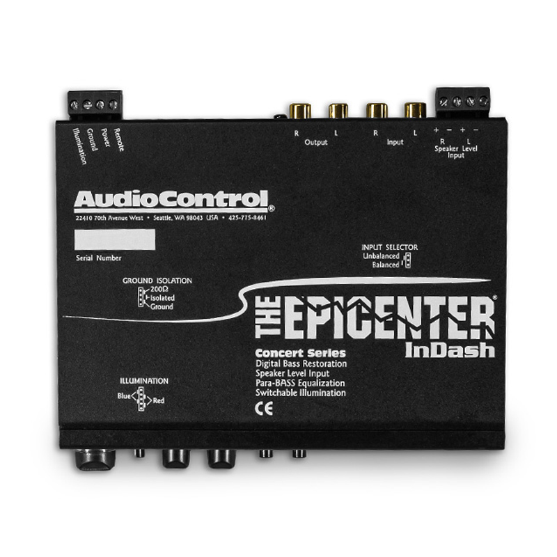 AudioControl TheEPICENTERInDASH