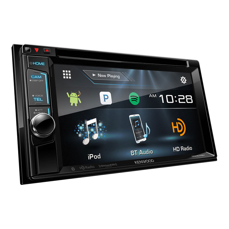 Kenwood DDX375BT 2 DIN Car Monitor Receiver with Bluetooth