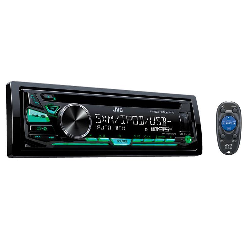 JVC KD-R680S Single DIN In-Dash CD/AM/FM/ Car Stereo W