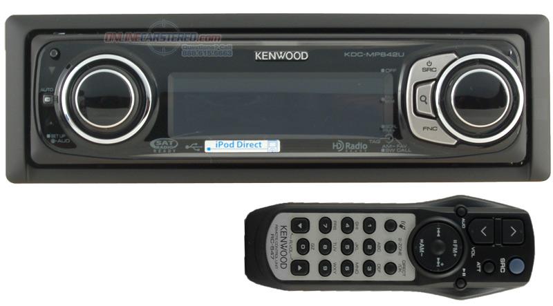 Kenwood KDC-MP642Uat Onlinecarstereo.com  Online Car Stereo