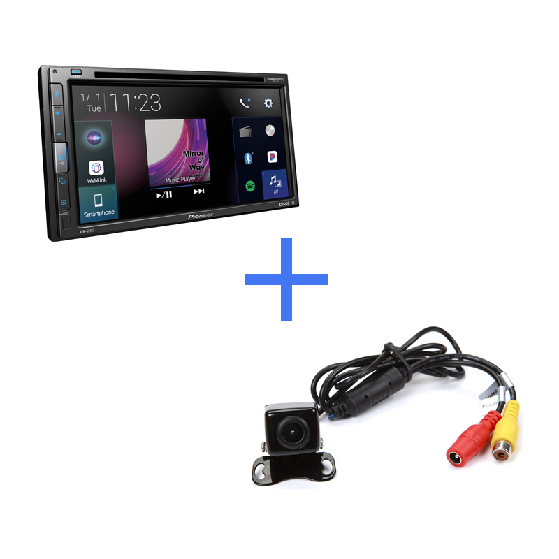 alternate product image Pioneer AVH-521EX-Bundle