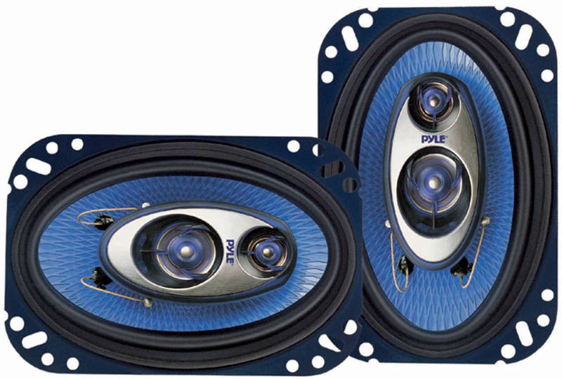 Pyle PL463BL 4'' X 6'' 240W 3-Way Speakers At
