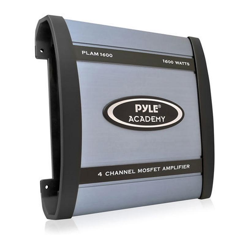Pyle PLAM1600 1600W 4 Channel Bridgeable Amplifier At
