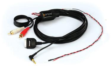 pac ic rca2 universal ipod auxiliary audio interface cable at onlinecarstereo