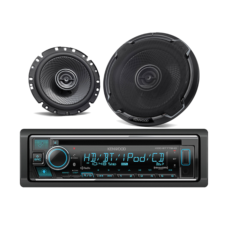 Kenwood KDC-BT778HD-Bundle