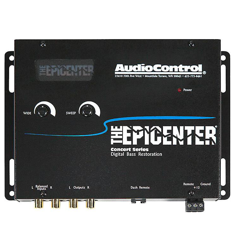AudioControl EPICENTER-BLACK