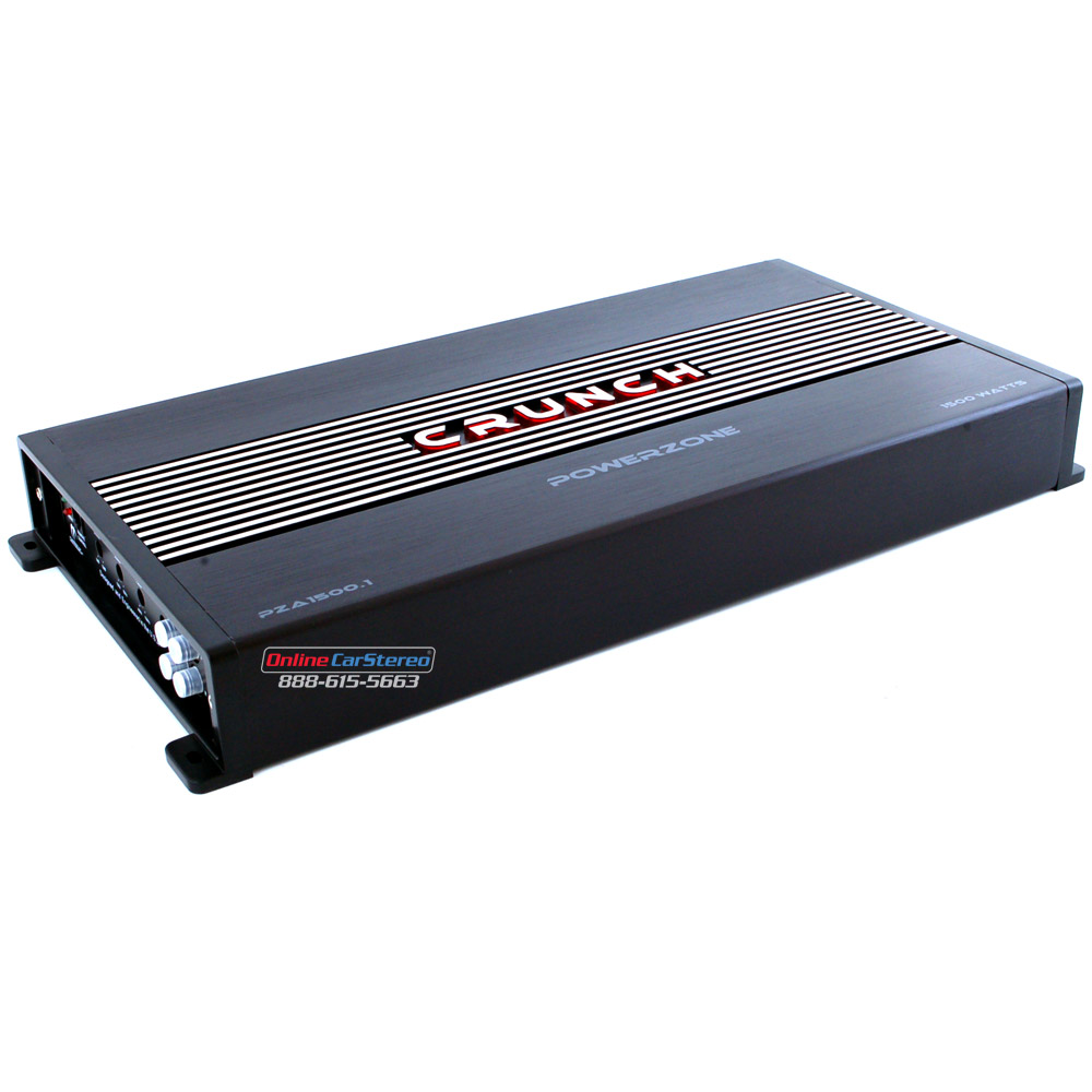 Crunch PZT150 (PZT15001) Car Amplifier AWG Amplifier Kit