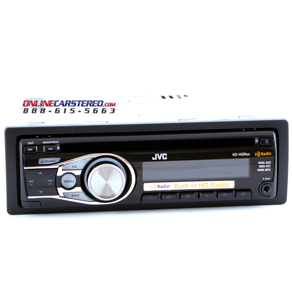 Jvc Kd Hdr44 Pin Dash Cd Mp3 Aac Wma Hd Radio Receiver With Deh 2200ub Wiring Diagram