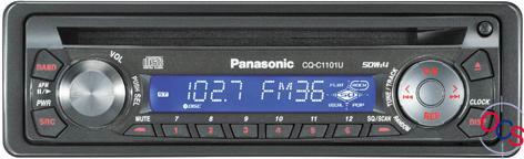 panasonic cq-c1101u reviews at onlinecarstereo  online car stereo