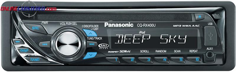 Panasonic CQ-C1505N CD / MP3 / WMA Car Stereo with Aux ...  |Panasonic Truck Radio A5198