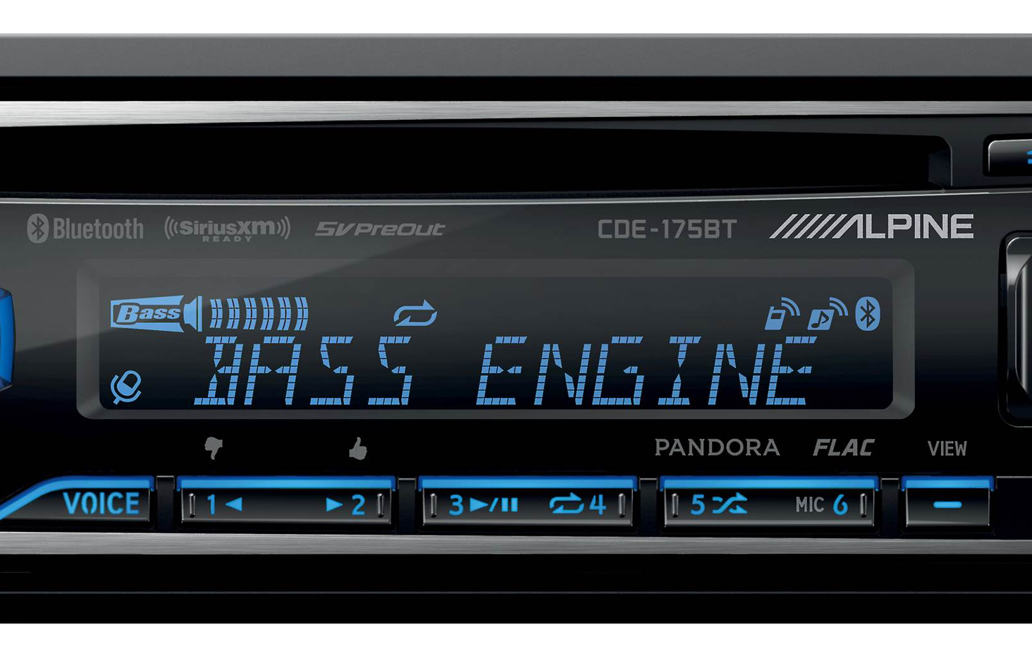 High-Contrast LCD Display And Easy Music Control