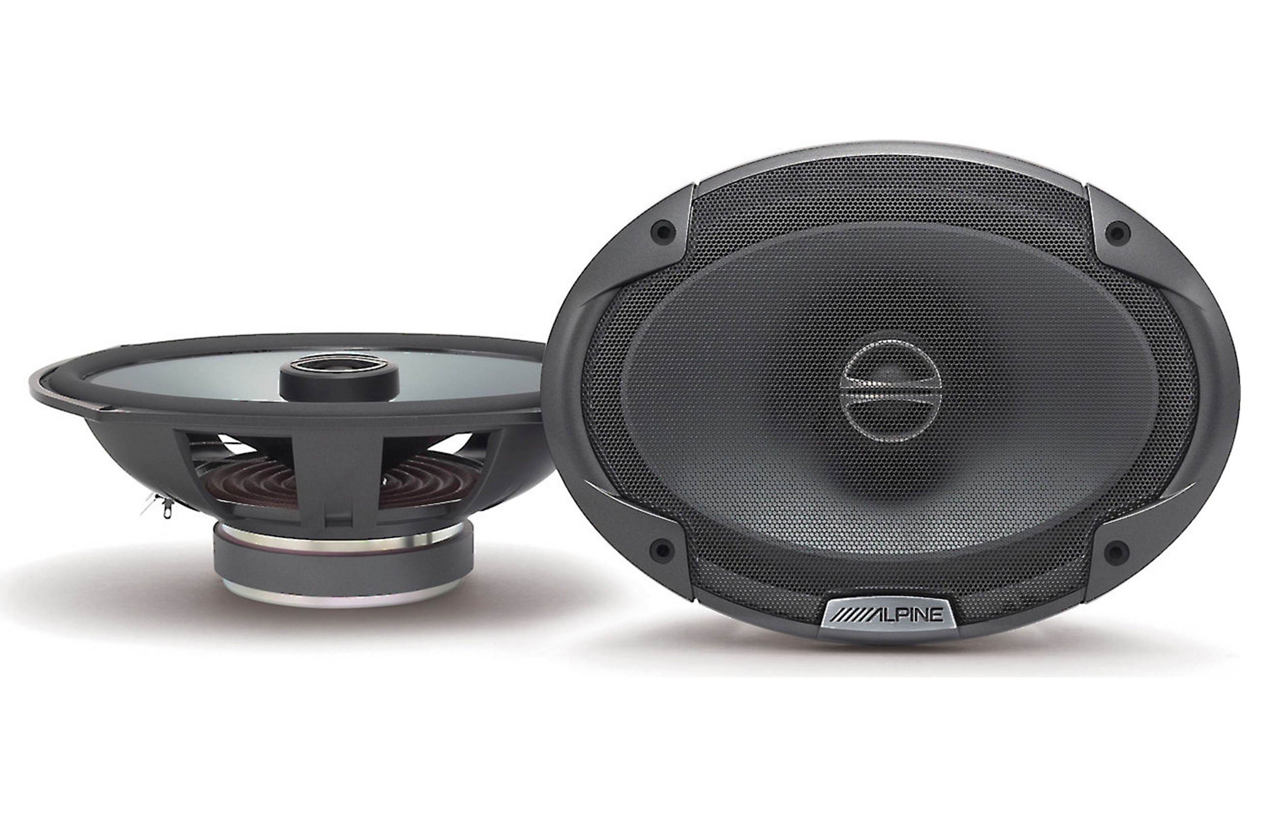 Alpine SPE-6090 6x9 inch 2-Way SPE-Series Coaxial Car Audio Speakers