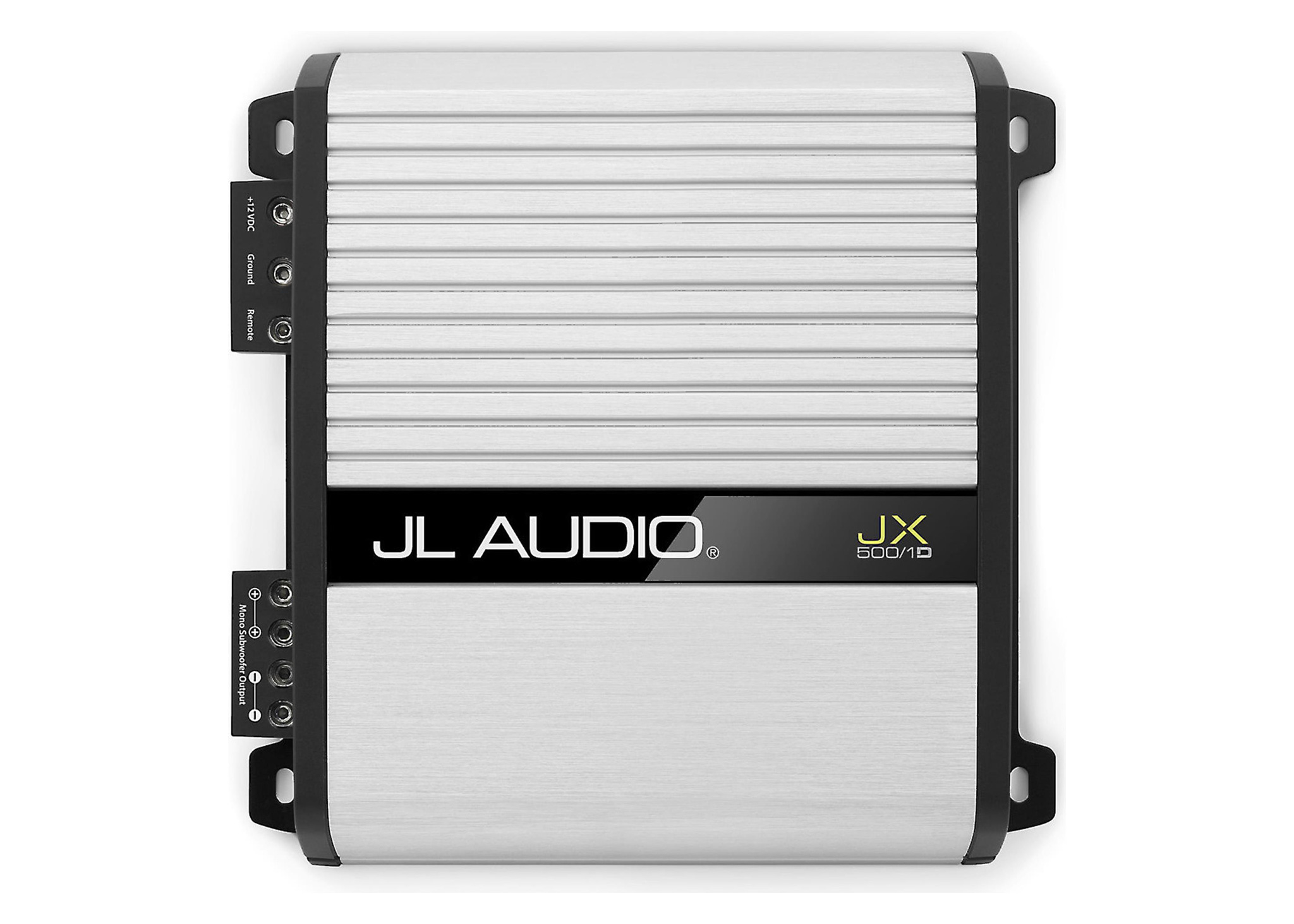 JX500/1D Mono Subwoofer Car Amplifier 500 watts RMS x 1 at 2 ohms