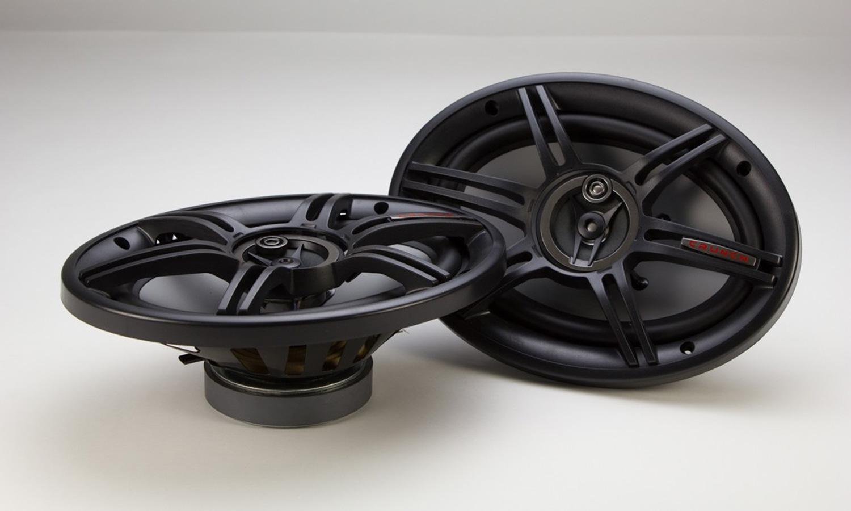 6x9 inch 3-way 400 Watts V-Drive Series Full Range Automotive Speakers