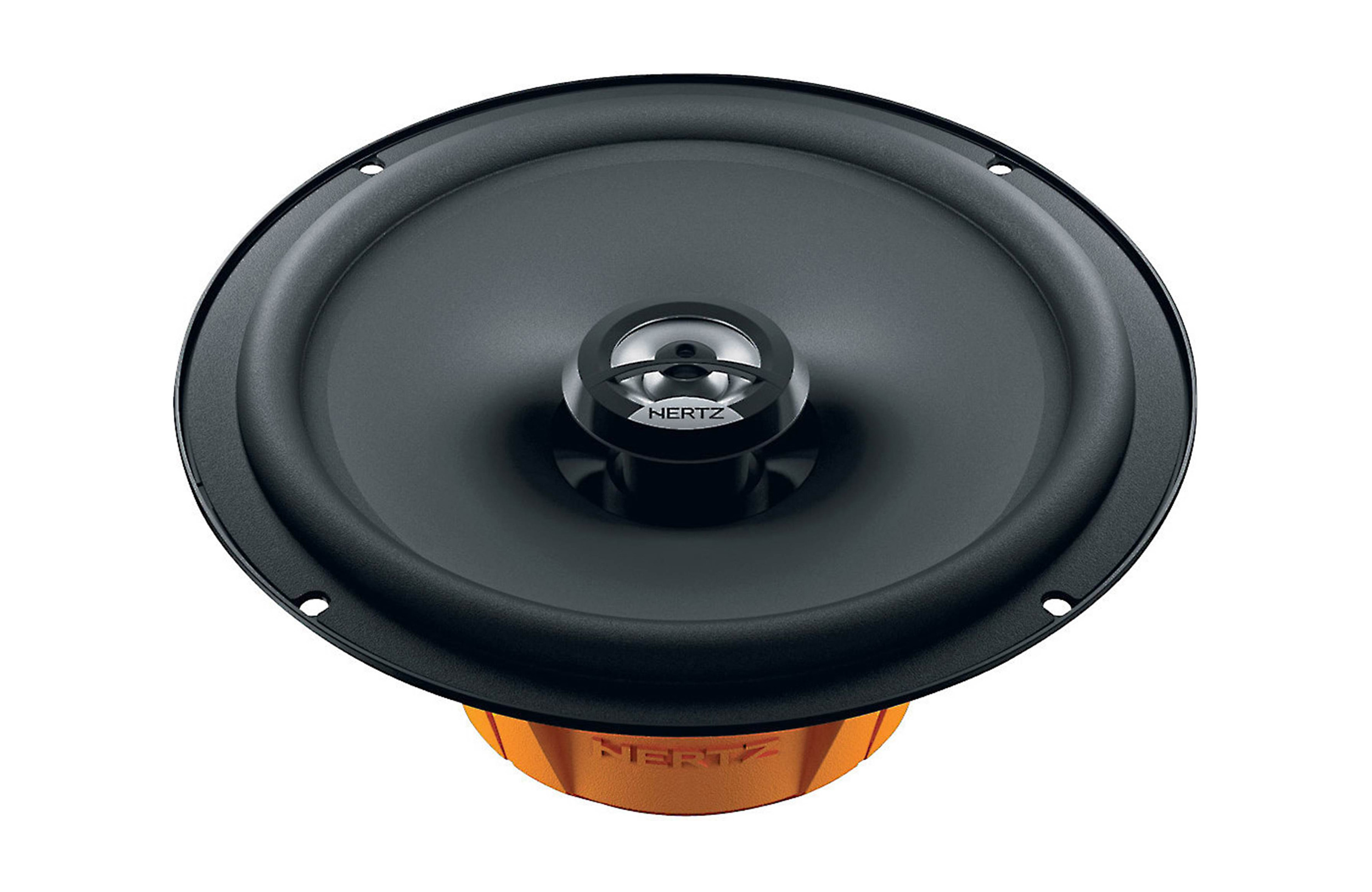 Hertz DCX165.3 6-1/2 inch 60W RMS (120W Peak Power) 4-ohm Impedance 2-Way Coaxial Speakers